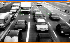 Click here for large image of Wide Angle Vehicle Detection Video Camera